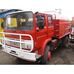 Wóz strażacki 4x4 Renault S170 rok 1991 zabudowa Camiva 6000 litrów