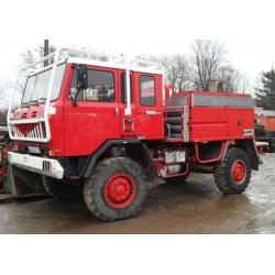 IVECO UNIC 80.17 4x4 Wóz strażacki 4x4 1991 Hydraulika UNIMOG 80-17