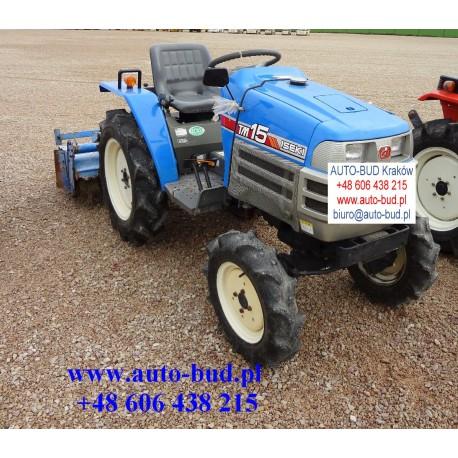 Traktorek ogrodniczy Iseki TM15 F 4x4 z kultywatorem
